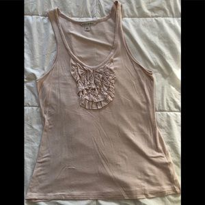 Banana Republic Tops - Banana Republic Ruffled Tank